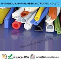 EPDM, NBR, Silicone rubber strips rubber extrusion parts