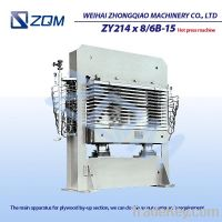Sell  PLYWOOD  HOT  PRESS  MACHIN(ZY214 x 8/6B-15)