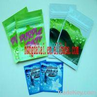 Sell :herbal incese foil packaging bag with ziplock