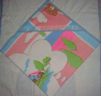 Sell children cotton hooded towel