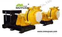 Sell metal lined centrifugal slurry pump