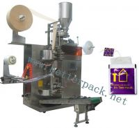 Sell automatic tea bag packing machine with outer envelope