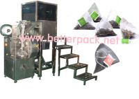 Sell automatic pyramid tea bags packing machine