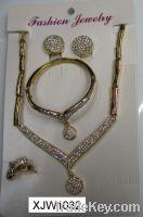 Wholesale wedding jewelry sets(XJW1032)