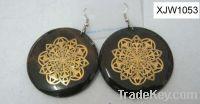 Sell charm drop earrings (XJW1053)