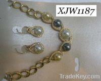 Wholesale pearl jewelry set(XJW1187)