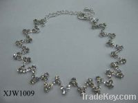 Wholesale cheap rhinestone necklace(XJW1009)