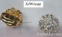 Sell rhinestone rings(XJW1249)