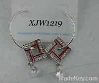 Wholesale succinct style earring(XJW1219)
