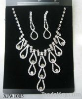 Sell wedding jewelry set(XJW1005)