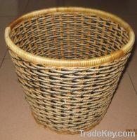 Sell hanging flower baskets/garden decoration/rattan basketry