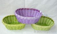Sell storage baskets/garden flower baskets/wood basket crafts