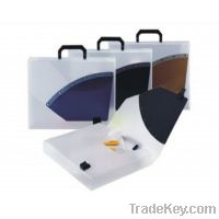 2011 office and school necessary supplies document briefcase