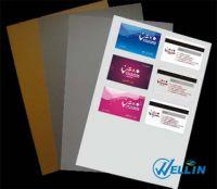 inkjet printable PVC sheet(silver)