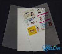 Instant PVC card sheet