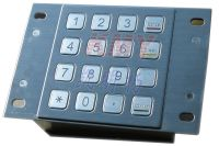3DES Stainless Steel Keypad/PINpad/Keyboard(IP65, NEMA4.x)