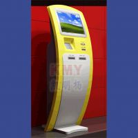 (New)KMY ATM Cash Interactive kiosk with touchscreen