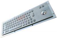 KMY299B Metal Keyboard with integrated trackball