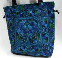 Thai Tribal Embroider Hobo Bag Women Handbag