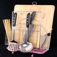 Knife Plate Rack, Bathroom Rack