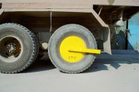 Sell STD Heavy-duty double wheel clamp(vehicle lock)