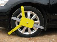 Sell STD simple tire lock(car wheel lock)