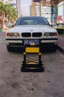 intelligent and remote control parking barrier
