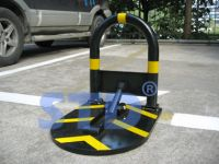 manually operated parking barrier