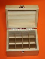 Alp-WS-005  Wooden Essential Oil Box (Holds 12 of 10 ml essential oil bottles)