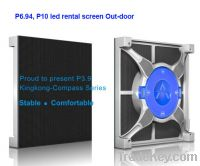Sell out door led rent screen