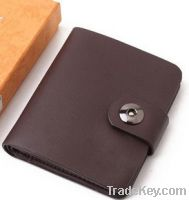 Mand Made Leather Wallet