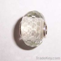 Sell Sterling silver core faced glass beads