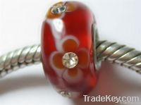 Sell Silver Core Crystal Glass Beads