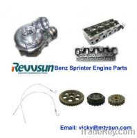 Supply all engine spare parts for benz sprinter