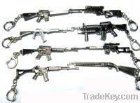 Sell toy gun model key chain