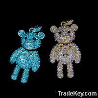 Sell fashion bear jewelry USB driver