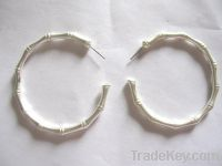 Sell bamboo joint shaped earring