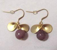 Sell semi-precious stone earring