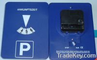 Sell automatic parking disc clock