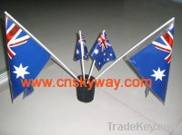 Sell PE hand flag China, waver