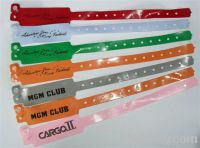 PVC(vinyl) event wristband --custom-made