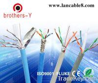 supply utp stp ftp sftp cat6 lan cable by Fluke test