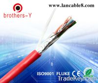 Sell red stp cat6 lan cable passed all kinds of tests