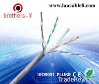 Sell grey cat5e ethernet network&lan cable