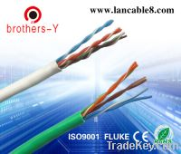 Sell all kinds of color cat5e  twisted pair OEM or factory pricec