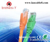 Sell green and orange utp cat5e patch cord&network cable