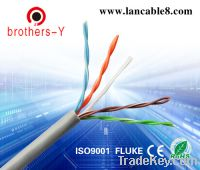 Sell CAT5E UTP lan cable , passed all kinds of test