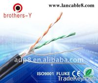 Sell CAT5E Network cable with 0.9mm ccs messenger