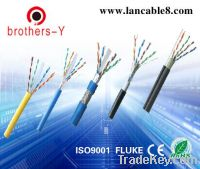 supply cat6 lan cable according to clients' request