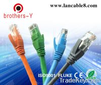 Sell ethernet cable cat 5e/cat 6 patch cord cable
